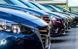 Auswahl an Verkaufsautos nach Kreditaufnahme