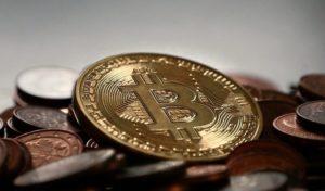 Bitcoin auf Cent Münzen