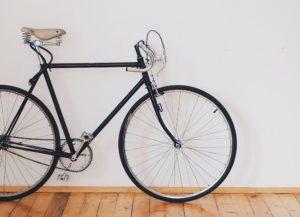 Fahrrad mit Fahrradversicherung in Wohnung abgestellt