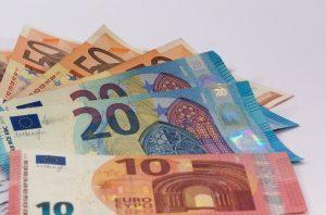 Geldscheine geliehen über Rahmenkredit