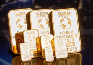 Goldbarren in verschiedenen Größen zum Gold kaufen