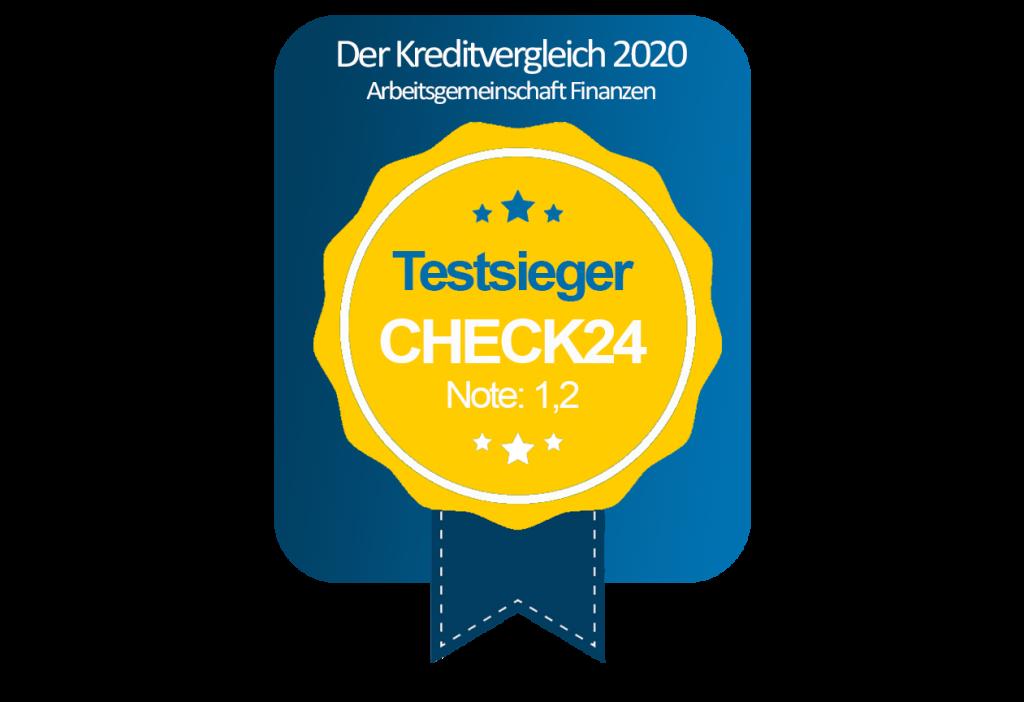 Siegel Testsieger Check24