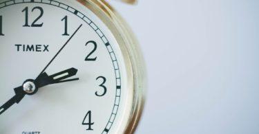 Nahaufnahme Uhr für Zeit bei Sofortkredit