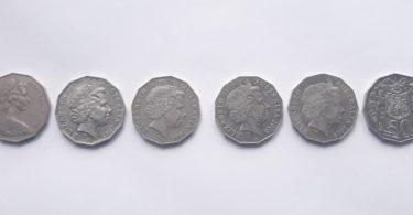 Verschiedene Silber Münzen Sammeln