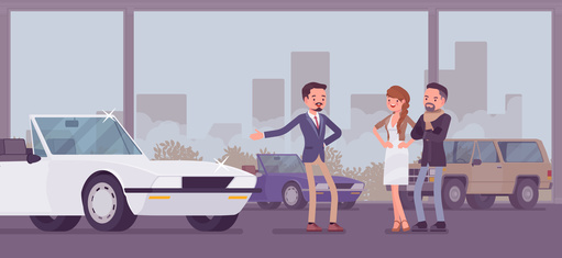Auto Leasing im Autohaus